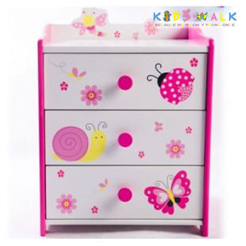 DL-017 BUTTERFLY & BUG BEDSIDE TABLE
