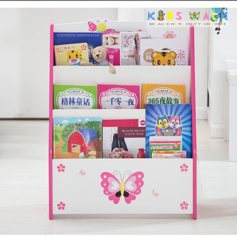 DL-018 BUTTERFLY & BUG MAGAZINE RACK