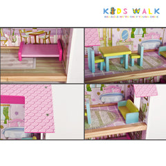 FC1036  MINI DREAM WOODEN DOLLHOUSE