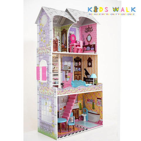 FC-1141 MELROSE WOODEN DOLLHOUSE