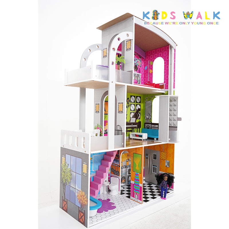 FC-1153 CLIFTON DOLLHOUSE WITH ELEVATOR