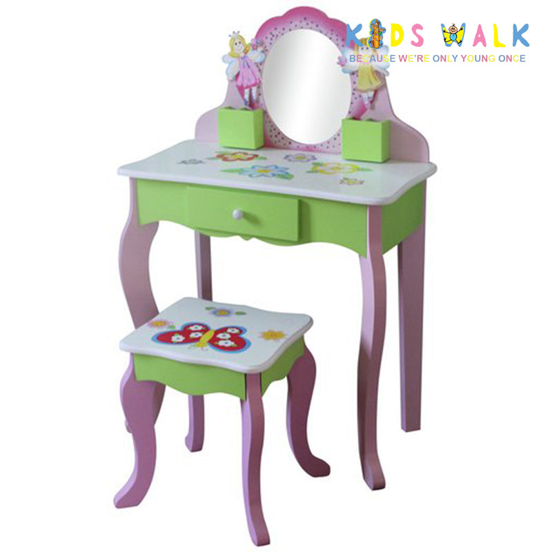 TY10043 FAIRY DRESSING TABLE & CHAIR