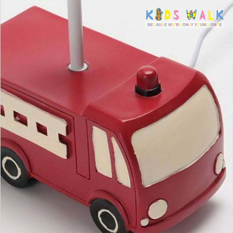 XYET 034 FIRE TRUCK TABLE LAMP