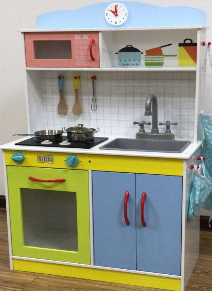 TX00-LARGE KITCHEN SET W/CLOCK
