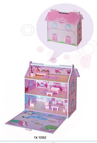 TX1092-MINI DOLLHOUSE