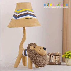 L12-086-34 LION CARTOON CLOTH TABLE LAMP