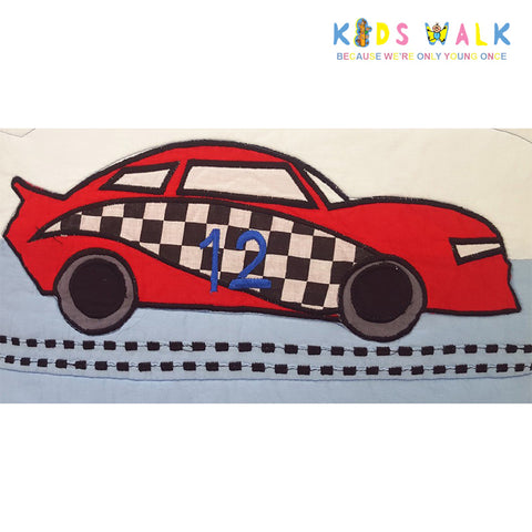 BC-011 BOY'S RACING CAR CUSHION COVER