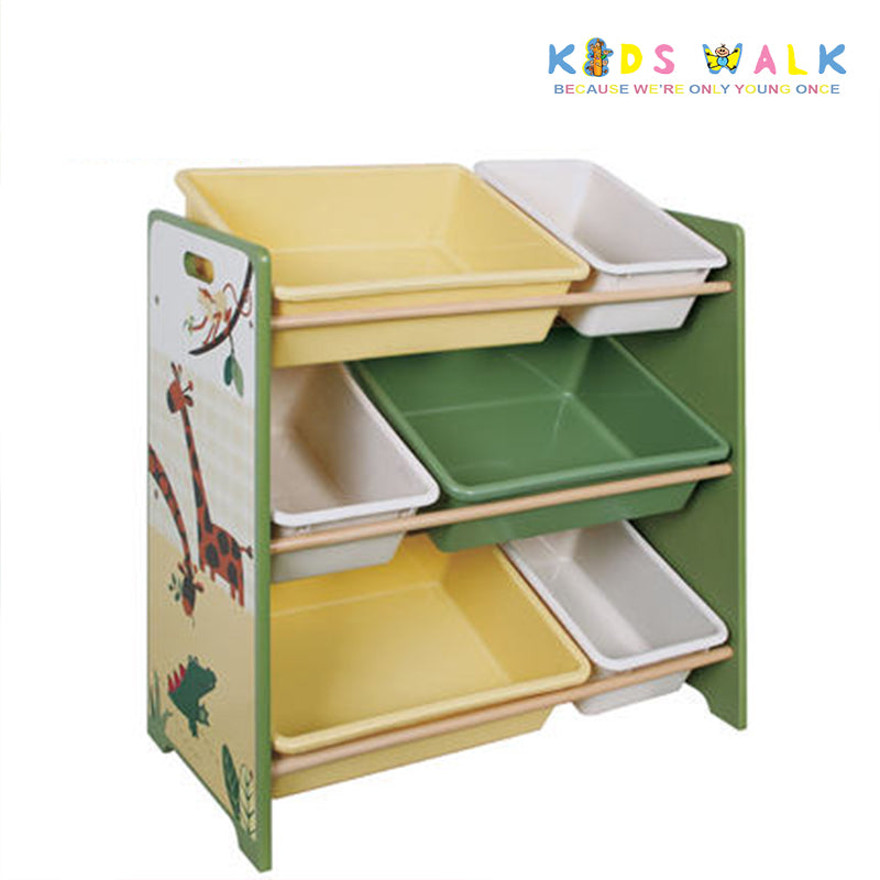 SL-008 3 LAYER SHELF WITH BINS
