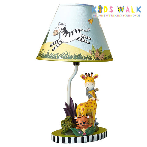 XYET 029 SUNNY SAFARI TABLE LAMP WITH CONICAL SHADE
