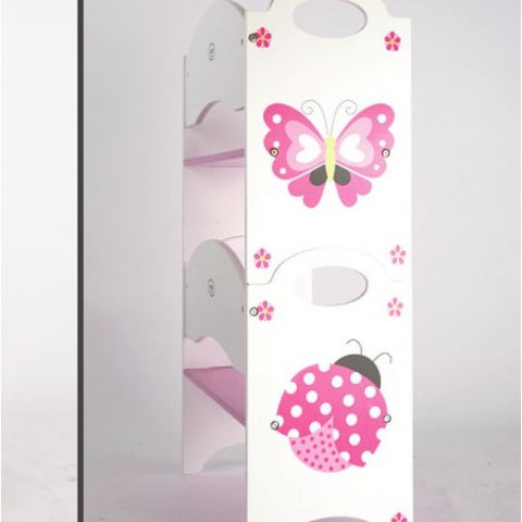 DL-027 BUTTERFLY & BUG STACKABLE BOOKSHELF