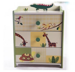 SL-015 SAFARI BED SIDE TABLE