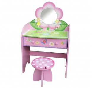 TY10042P DRESSING TABLE AND STOOL