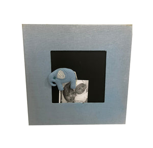 Picture Frame with Magnet (Blue)