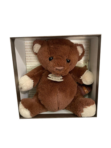 French Design Soft Toy - Brown Bear