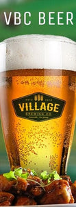 Village Brewing Pint Glass (Set of 2)
