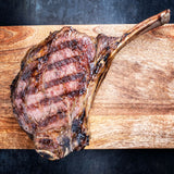 Air Flown Chilled 200 Days Grain Fed Black Angus Tomahawk
