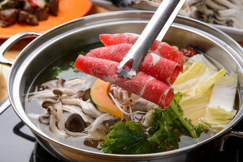 Air-Flown Chilled Prime Steer Striploin (Shabu-Shabu)