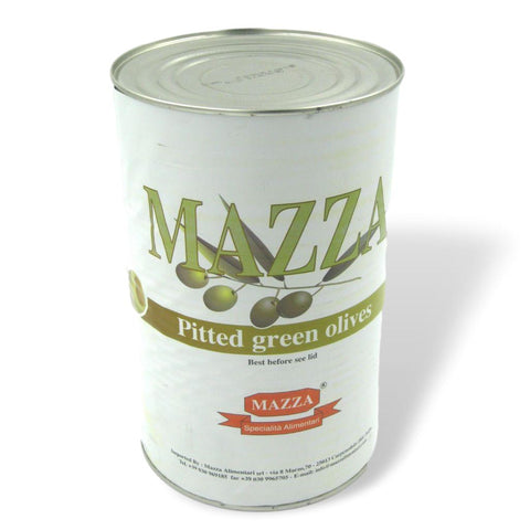 Green Pitted Olives - 4kg