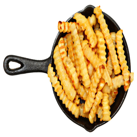 Crinkle Cut French Fries - 1KG