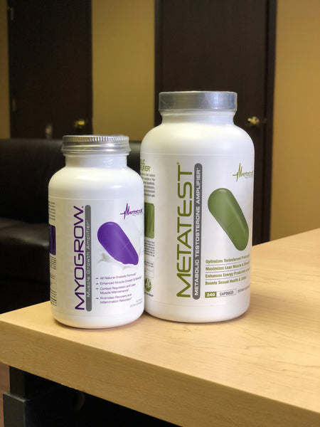 Metabolic Nutrition Metatest & Metabolic Nutrition MyoGrow
