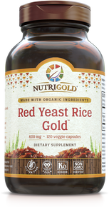 Red Yeast Rice Gold (Organic & USA Grown)