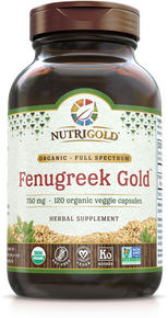 Fenugreek Gold - 750 mg (Organic) (1243093139499)
