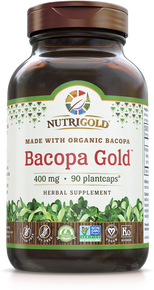 Bacopa Gold - 500 mg (Clinically proven Synapsa®)