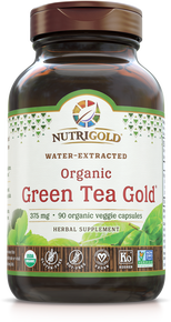 Green Tea Gold - 500 mg (50% EGCg & 90% Polyphenols)