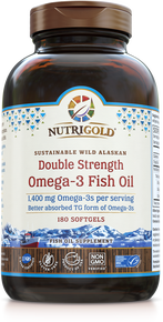 Double Strength Fish Oil - Omega-3 Gold (1242247725099)