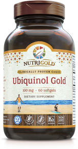 Ubiquinol Gold - 100 mg (Clinically proven Kaneka QH®)