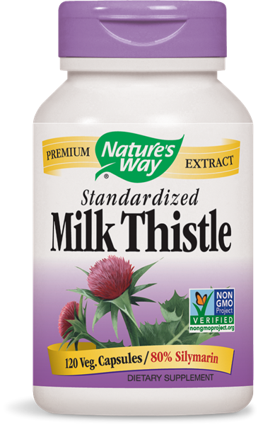Milk Thistle Standardized Extract 120 vegicaps (1602647785515)
