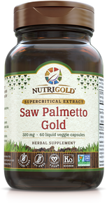 Saw Palmetto Gold - 320 mg (Clinically proven) (1243697152043)