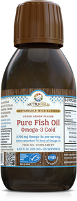 Pure Fish Oil Liquid - Omega-3 Gold