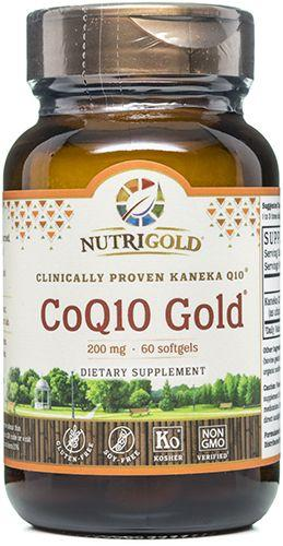 CoQ10 Gold (Double Strength) - 200 mg (KanekaQ10®) (1243754692651)