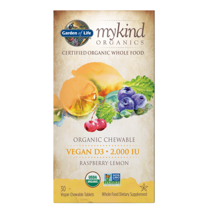 mykind Organics Chewable Vegan D3