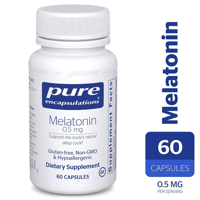 ME56 - Melatonin 0.5 Mg. 60's (4319534514241)