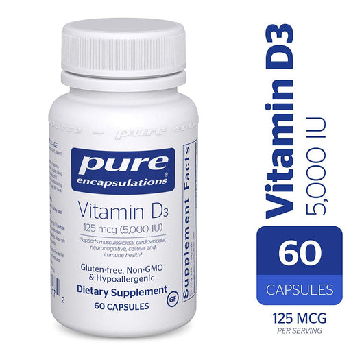 VD56 - Vitamin D3 125 mcg (5,000 IU) 60ct (4193108688939)