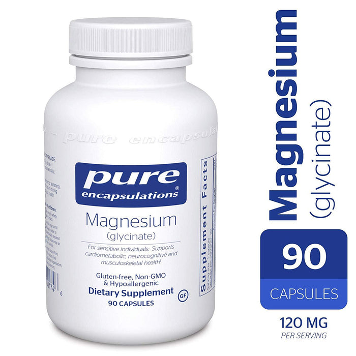 MG9 - Magnesium (Glycinate) 90's (4296000667691)
