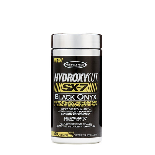 MuscleTech Hydroxycut SX-7 Black Oynx 160caps (895124340779)