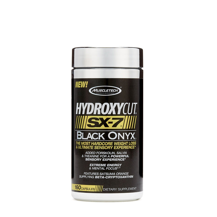MuscleTech Hydroxycut SX-7 Black Oynx 160caps