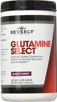 GLUTAMINE SELECT 552grams BLACK CHERRY