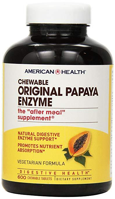 Papaya Enzyme Original Chewabl (1598620598315)
