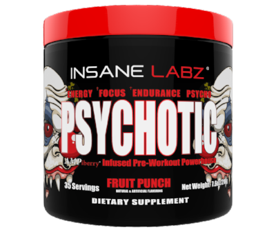 Psychotic Pre Workout 35 Servings (895296765995)