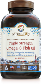 Triple Strength Fish Oil Omega-3 Gold