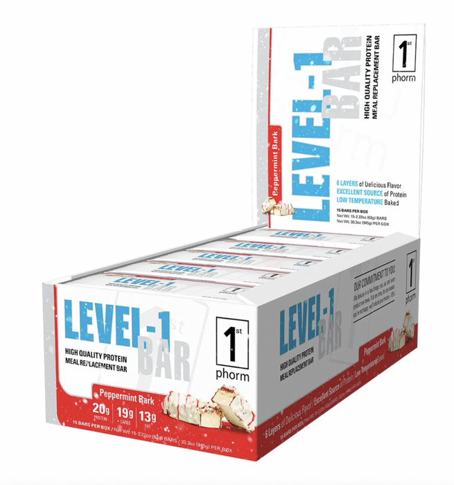 Level-1 Protein Bar (Sold in cases of 15 Only)