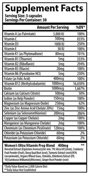 Women's Ultra Vitamin 120vcap