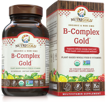 Vitamin B-Complex Gold (Organic, Whole-food, Plant-based) (1239046783019)