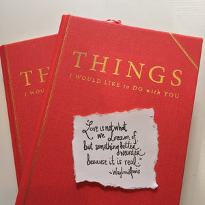 "2 COPIES OF ""THINGS I WOULD LIKE TO DO WITH YOU."" GIFT SET!"