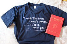 "SLEEPER TEE: ""THINGS I WOULD LIKE TO DO WITH YOU"" OVERSIZED TEE"