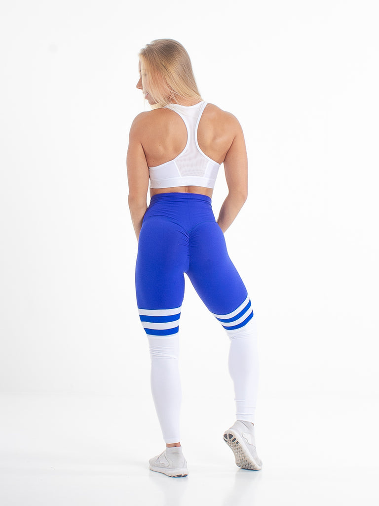 High Bunny Stripes Cobalt - fitnessvaatteet